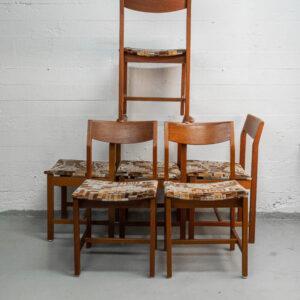 Vintage teak tuolit