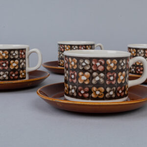 Gefle Mantilj kahvikuppipari