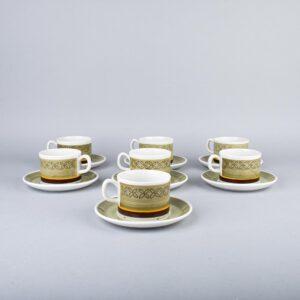 Gefle Ylva kahvikuppiparit